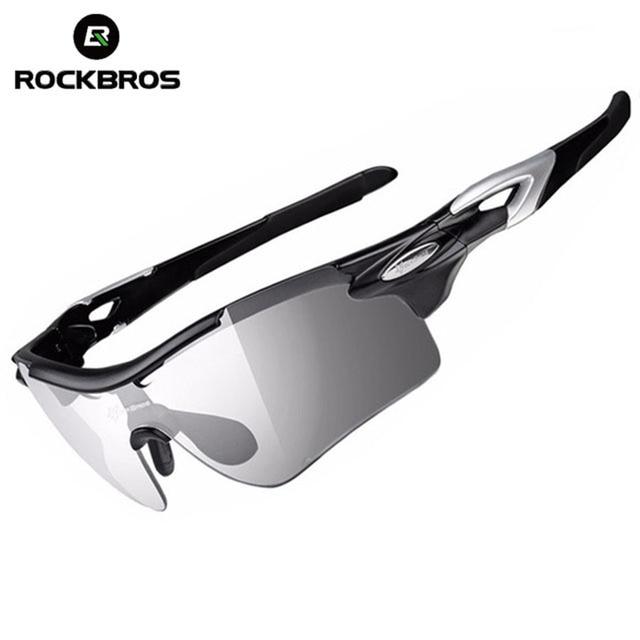 95a9820d72 Gafas de ciclismo polarizadas ROCKBROS gafas de bicicleta fotocromáticas  deportes pesca MTB gafas de sol de