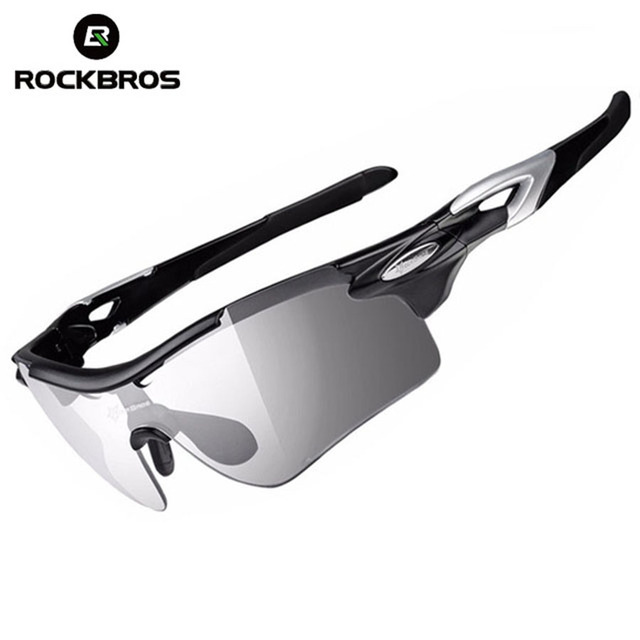 94f34b2afe ROCKBROS Polarized Cycling Glasses Photochromic Bike Glasses Sports Fishing MTB  Bicycle Sunglasses Goggles Eyewear Myopia Frame