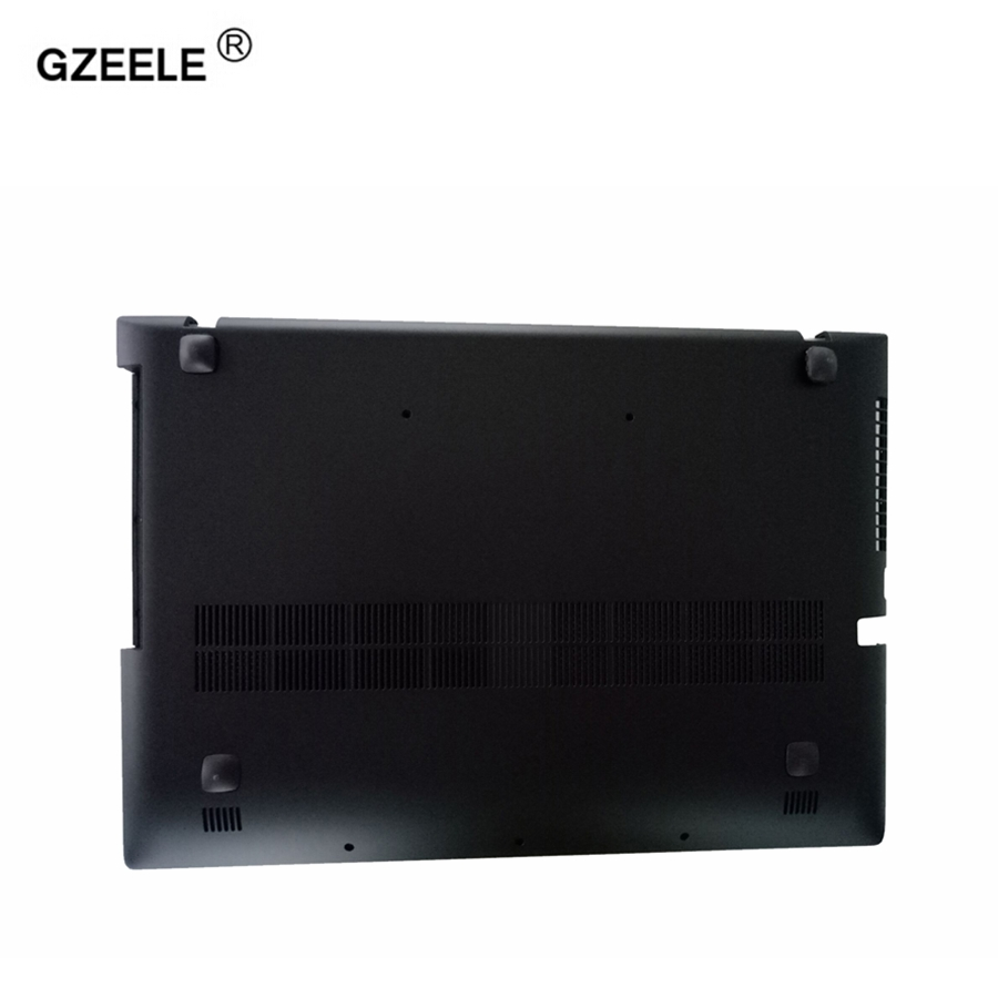 GZEELE New For Lenovo Z500 P500 Bottom Base Cover Case lower case Bottom Base Chassis D Cover Case shell gzeele for lenovo for ideapad y570 y575 bottom base cover case new orig d cover case d shell cover laptop bottom case with hdmi