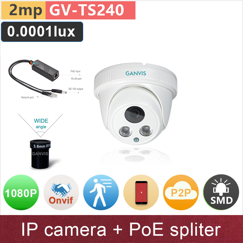 SONY STARVIS#+PoE adapter spliter# 1080P full HD IP camera 2mp starlight indoor dome cctv surveillance camera GANVIS GV-TS240 ps casual bow slides women summer beach shoes woman leather slippers flat flip flops ladies sandals