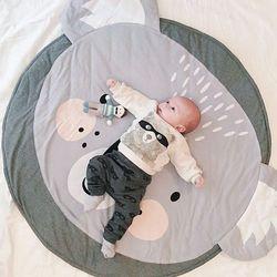 Nuovo del bambino stuoia di ginnastica carino gatto Koala orso di stampa KAMIMI appena nato infantile a pelo morbido tappeto di cotone molle del bambino arrampicata tappeto