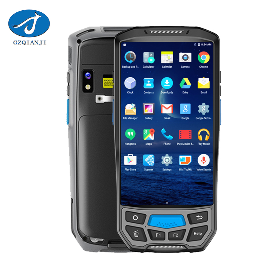 7.0 Android pda 4G rugged Tablet NFC reader Industrial Mobile Terminal Handheld Thermal  ...