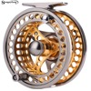 Sougayilang 5 6Fly Fishing Reel Cut Fishing Reel Large Arbor Left Right Coil Die Casting Aluminium