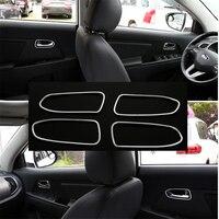 Car Inner Door Handle Cover Trim Abs For Kia Sportage R 2011 2015 Car Interior Mouldings