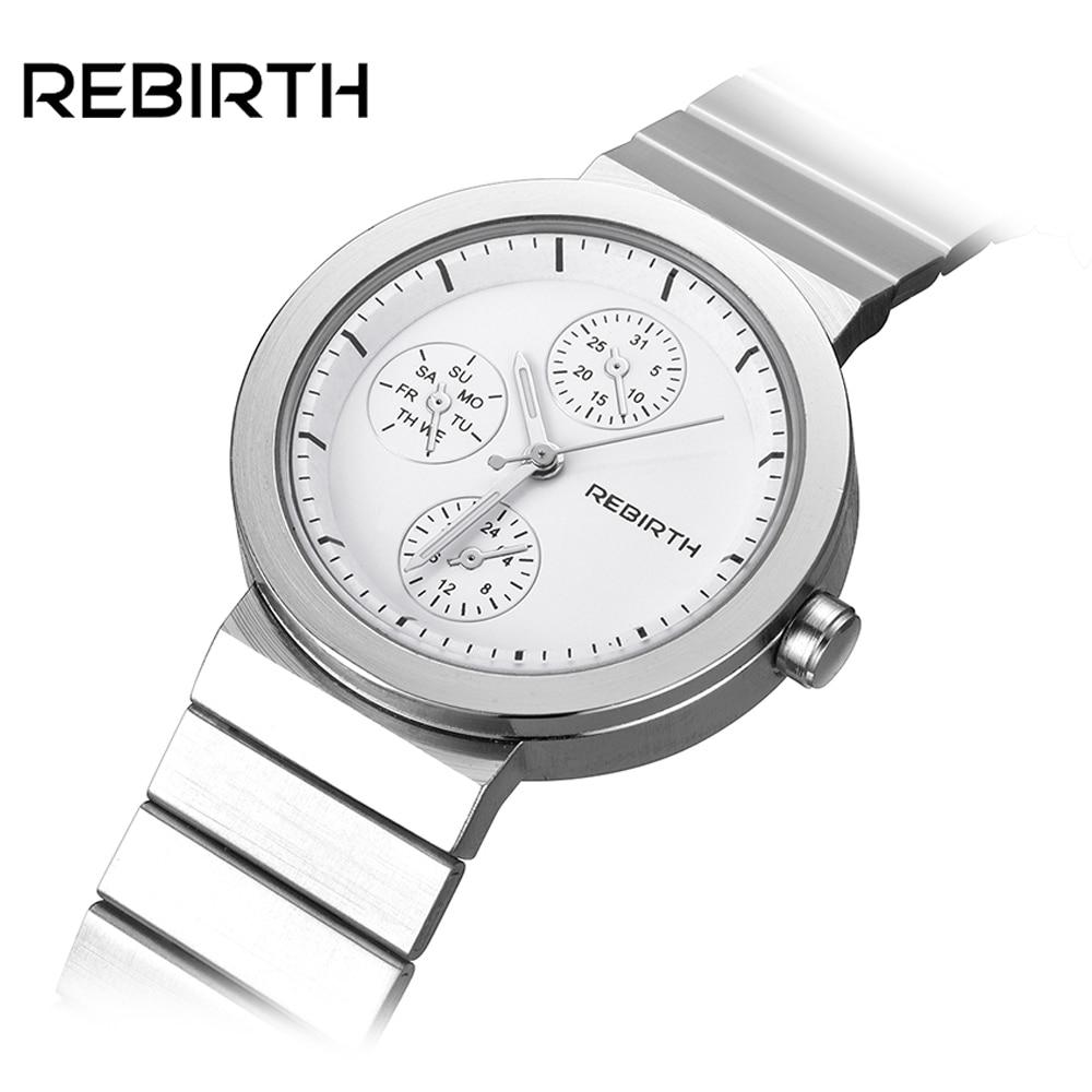 RENACIMIENTO Relojes de Mujer de Plata de Lujo de Alta Calidad - Relojes para mujeres