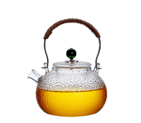 Japanese Style Heat Resistant Glass Teapot With Filter Chinese kung fu Tea Set Puer Kettle Coffee Glass For Home Office LFB953