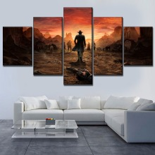 Canvas HD Print Painting 3 Pieces Wall Art Game Poster Modern Home Decorative Living Room Desperados III One Set Modular Picture