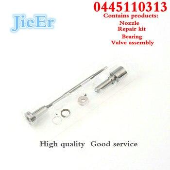 CR injecteur réparation combinaison DLLA 147 P 1702 F00VC01359 F00VC21002 carburant rampe commune injecteur révision pour injecteur 0445110313