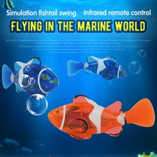 NO.3316 RC Fish RC Toy Powered Speed Radio Control Toys 2.4V 4CH Plastic Model RC Fish Outdoor Toys for Children