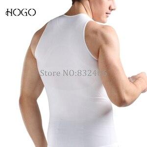 Image 3 - Man Body Shaper Slim Posture Correction Support Back Top Gynecomastia Shirt Corset Tummy Trimmer Underwear tank Vest Undershirt