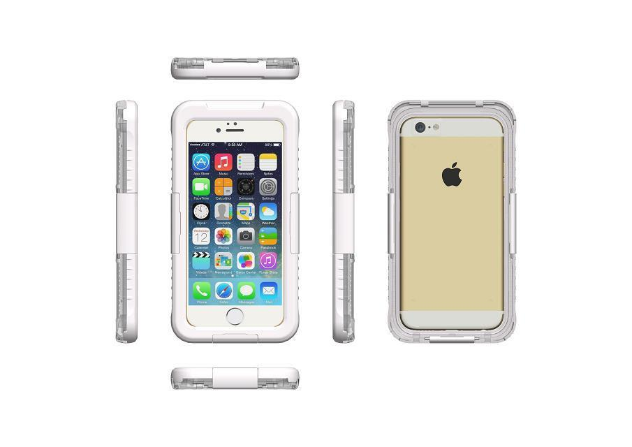 Waterproof <font><b>Case</b></font> For iPhone 5 SE 6 Plus 7 Plus <font><b>Phone</b></font> Cover Samsung Note7 5 4 <font><b>S5</b></font> S6 Edge S7 Edge drop protection depth Waterproof