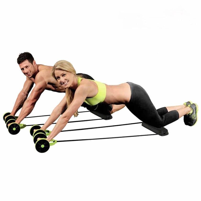 10% de réduction sur le rouleau d'entraînement Abdominal de sport d'exercice Abdominal équipement de Fitness entraînement ventre mince roue abdominale 12zp-5b