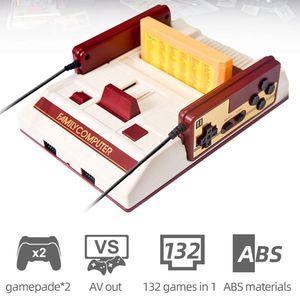 Image 5 - 1 takım Video oyunu konsolu çocuk klasik oyun denetleyicisi 132 IN 1 oyun kartı çocuklar için hediyeler malzemeleri