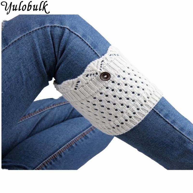 Good Women Ladies Winter Crochet Boot Cuffs Shell Knit Toppers Boot Socks Leg Warmers Boot Covers Calcetines Largos Harajuku #121 Women's Socks & Hosiery Leg Warmers