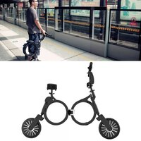 Folding Vehicle Super Lightweight Mini Portable Two Wheeled Adult Lithium Battery Electric Scooter Bicycle Scooter High