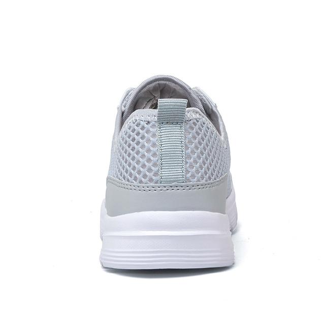 Men Summer Fashion Breathable Men Casual Shoes Lace Up High Quality Flat Mesh Shoes Plus Size 35-48