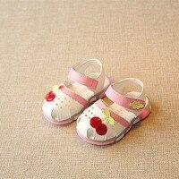 女の子サンダルソフトコンフォート幼児女の赤ちゃん靴ビーチサン