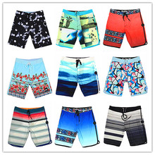 Calvn PuLL Summer 2019 Phantom Beach Board Shorts Swimwear Men Elastic Spandex Sexy