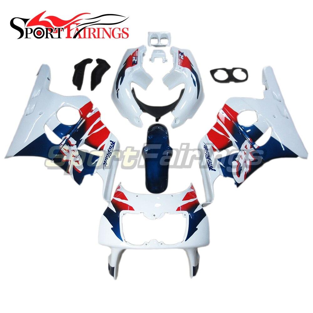 Carénages en plastique ABS pour Honda CBR400RR NC29 90-99 Kit carénage moto Kit carénage perle blanc bleu rouge nouveau