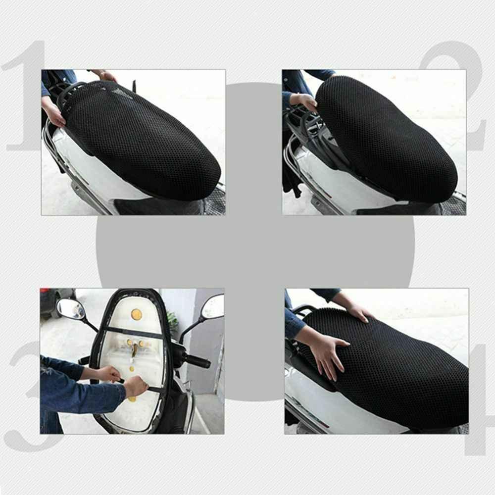 Capa de assento da motocicleta celular respirável verão acessórios substituição kit parte da motocicleta capa de assento protetor solar