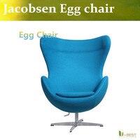 U BEST High Quality Purple Egg Chair Wool Egg Chair Modern Design Furniture