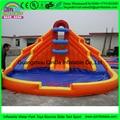 Китай низкая цена высокое качество 1000 футов slip-n-slide inflatable slide город/гигантские надувные водные горки