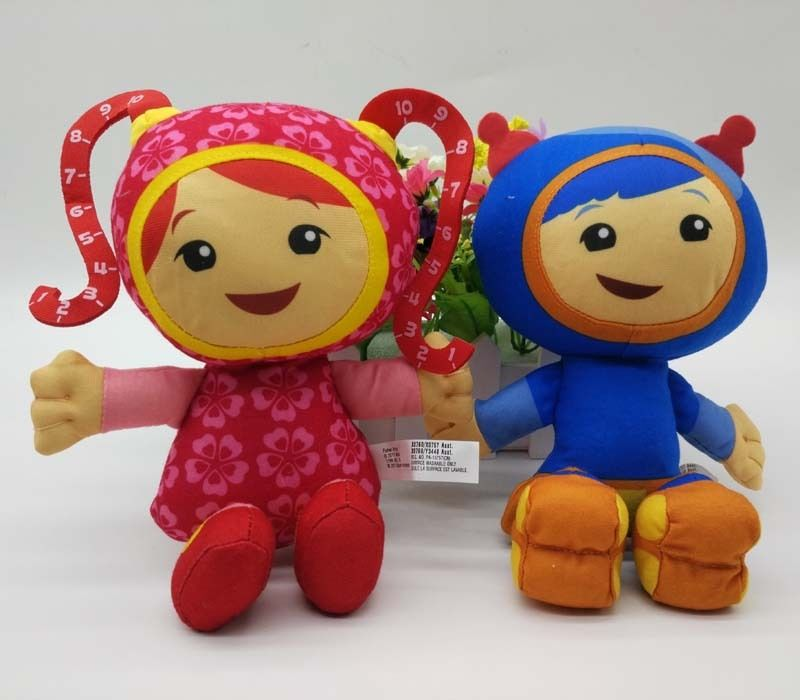 Us 19 8 10 Off Team Umizoomi Milli Geo Plush 9 Inch Plush Doll New 2pcs In Movies Tv From Toys Hobbies On Aliexpress
