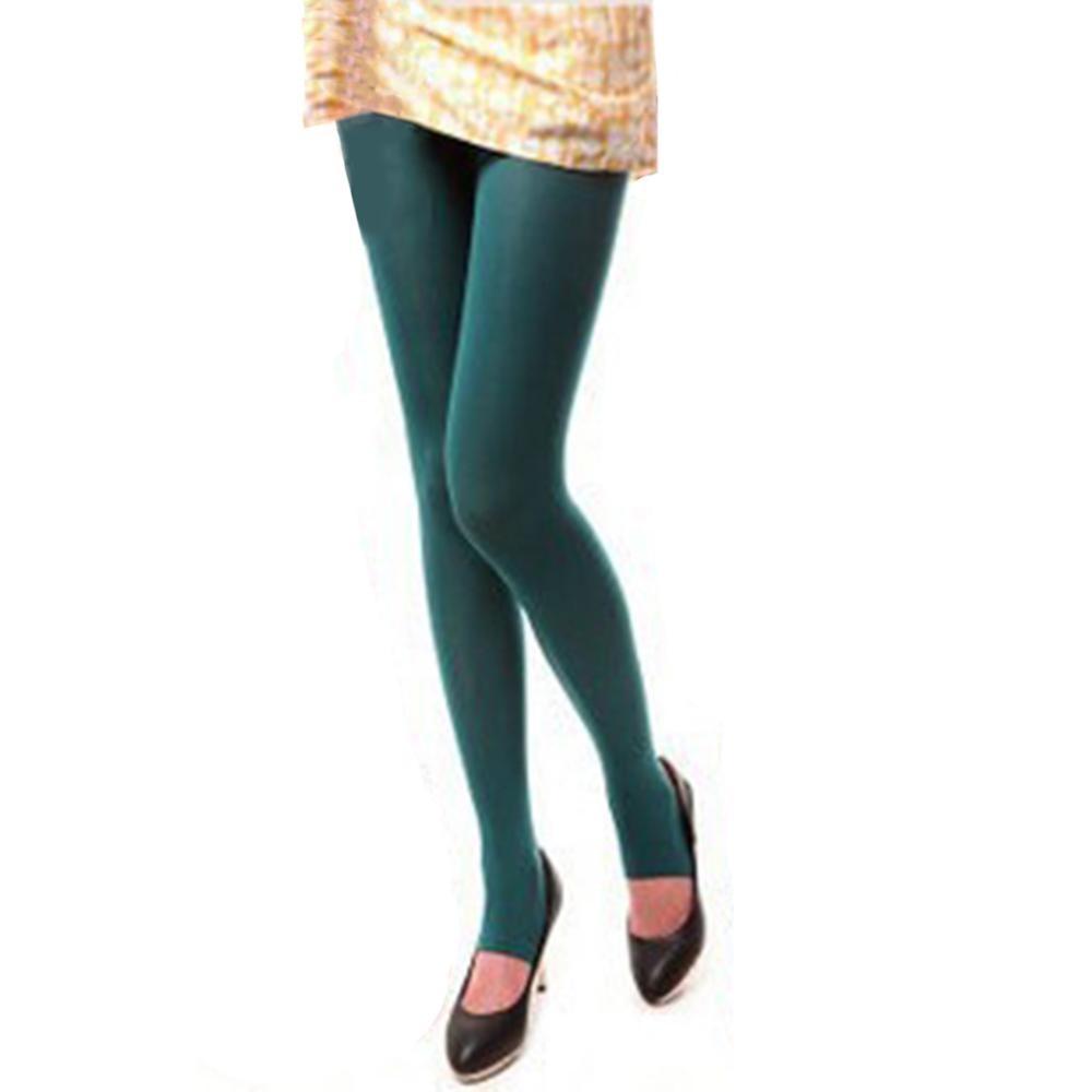 Сексуальные женские колготки, теплые бесшовные колготки 120D, бархатные эластичные колготки Strumpfhose Collant Femme Medias - Цвет: Dark Green