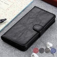 Caso De Couro magnético Para OnePlus 7 Pro Vintage Wallet Leather Flip Cartão Estar Titular Durável Macio TPU Tampa Interna Para Um além de 7 Pro