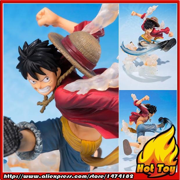 100% Original BANDAI Tamashii Nations Figuarts ZERO Collection Figure - Monkey D. Luffy -Gomugomu no Takamuchi- from