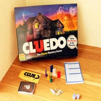 Cluedo Suspect Clue Discover the Secrets Classic Board Game English Version instructions Detective Game for family party