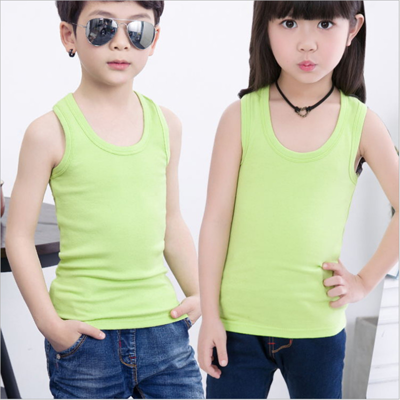 127a8712714 ... Boys Sleeveless Tank Tops Vintage Baby Undershirts ...