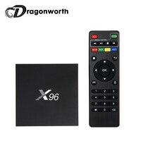 10pcs X96 Amlogic S905X Quad Core Android 6 0 TV BOX 1G 8G KODI 16 1