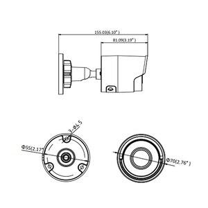 Image 5 - Hikvision 8MP (4 K) Bullet POE kamera IP zewnętrzna odporna na warunki atmosferyczne IP.67 CCTV nadzór bezpieczeństwa noktowizor IR30m DS 2CD2085FWD I