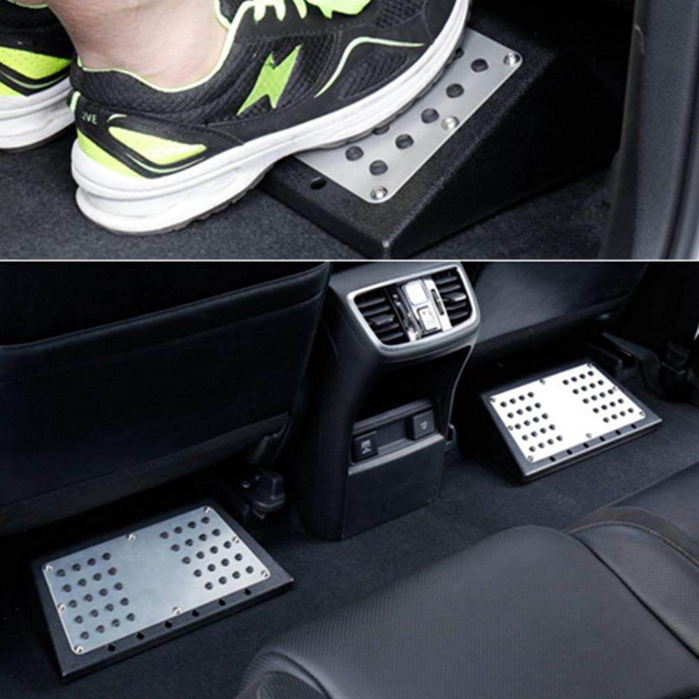 Universal Car Footboard Floor Carpet Mats Patch Heel Plate