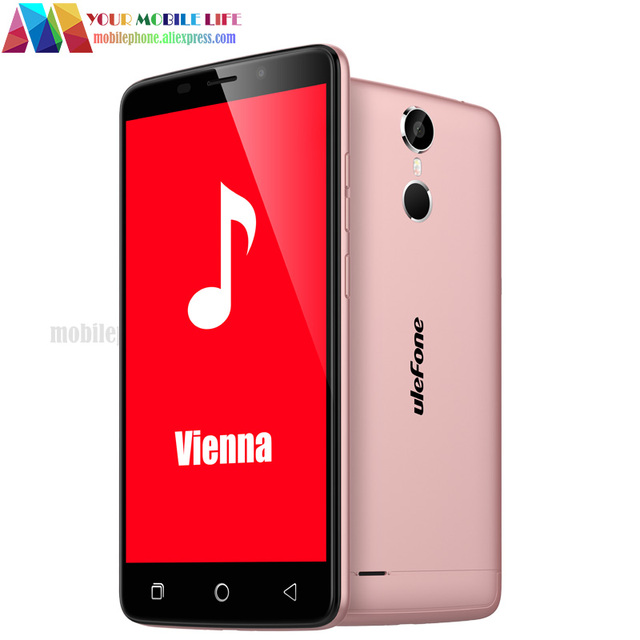 "Fingerprint ID Original Ulefone Vienna 4G 5.5"" FHD MTK6753 Octa Core 3GB RAM 32GB ROM 13.0MP Touch ID OTG Unlocked Smart Phone"