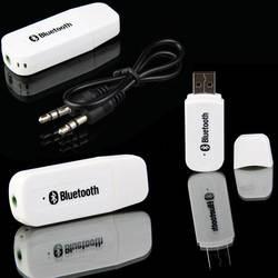 Универсальный автомобильный Беспроводной Bluetooth AUX аудио приемник адаптер 3,5 мм Jack Dual-port вызываемый Bluetooth приемник аудио