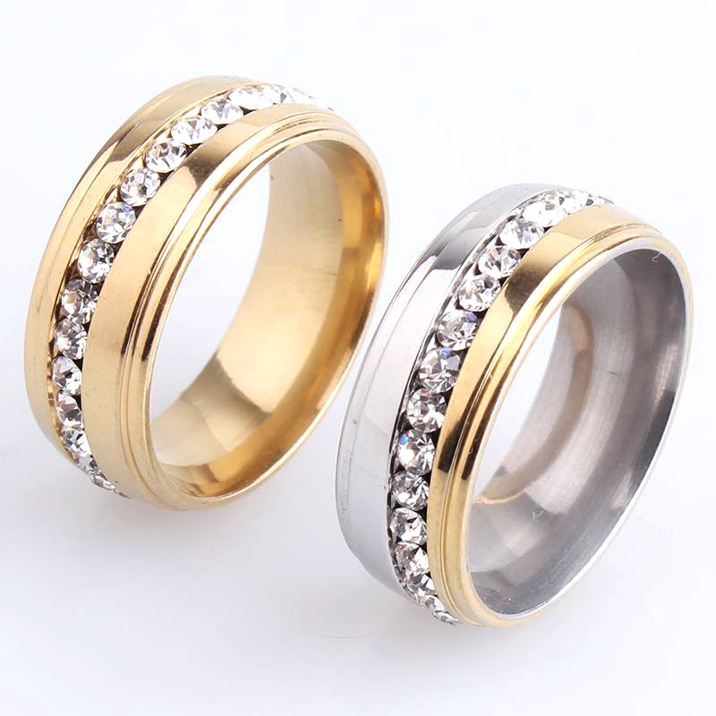 Free Shipping 6mm Drops Oil Exo 316l Stainless Steel Wedding Rings For Women Men Wholesale 2019 Latest Style Online Sale 50% Jewelry & Accessories