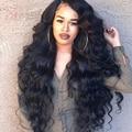 250% Density Full Lace Brazilian Human Hair Wigs Front Lace Wigs Body Wave Glueless Lace Front Wigs For Black Women Wavy Wigs