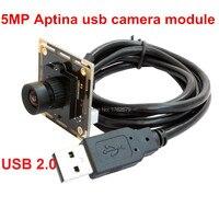 6mm Lens 5 0Megapixel Max Resolution 2592x1944 HD 1 2 5 Aptina MI5100 CMOS Digital Camera