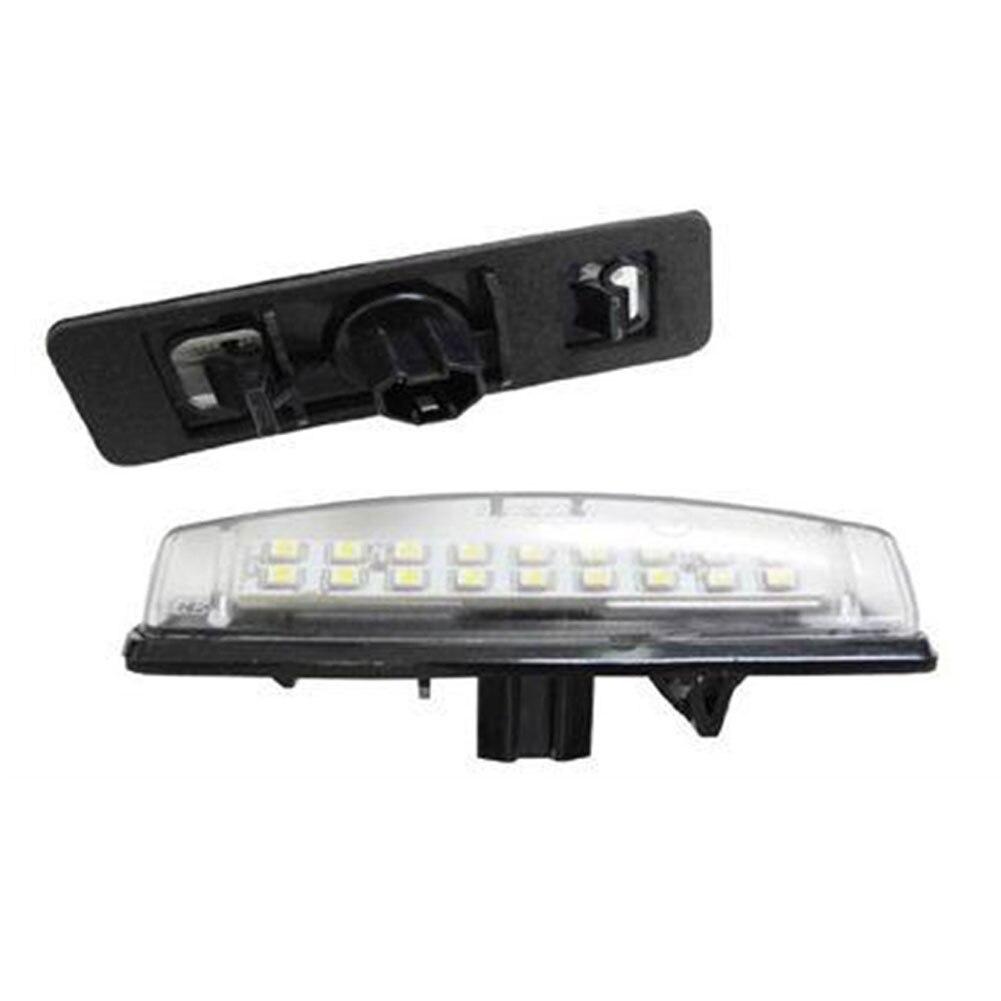 2 Teile/satz 6000 Karat Auto 18 SMD LED License Nummernschild licht ...