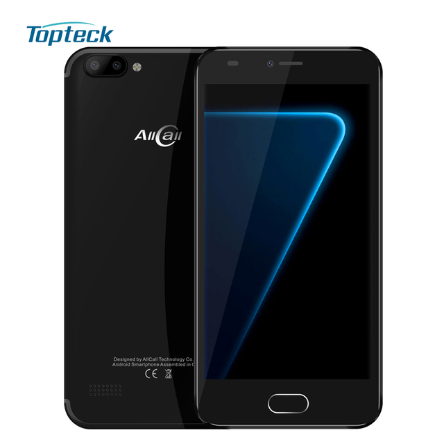 "AllCall Alpha Mobile Phone 5.0"" IPS MTK6580A 4X Cortex-A53 Android 7.0 1GB  RAM"