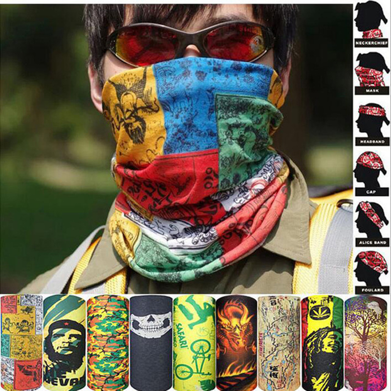 Bicycle Magic Scarf Outdoor Sports Riding Mask Bike Headband Breathable Seamless Bandanas Cycling Scarf Face Cover Ski Mask