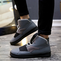 Ramialali Brand Men Shoes Casual Leather Shoes Mens Sport High Top Shoes Breathable Flats Zapatos Hombre Sapato Masculino