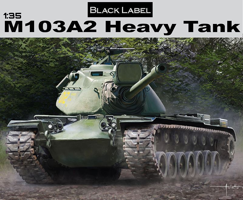 все цены на DRAGON 3549 M103A2 Heavy Tank Black Label 1: 35 Model Kit онлайн