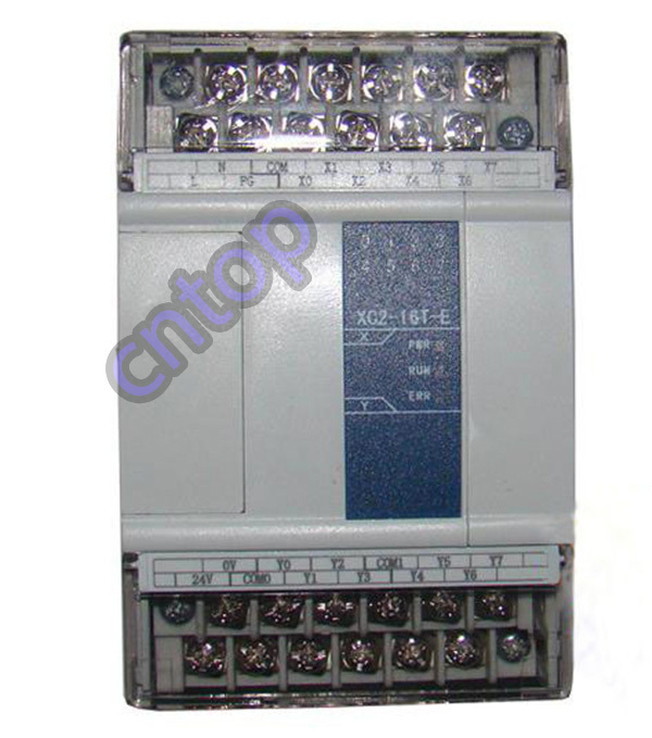 XC2-16T-E XINJE XC2 Series PLC AC220V DI 8 DO 8 Transistor new in box xc e8x8yt xinje xc series plc digital i o module di 8 do 8 transistor new in box