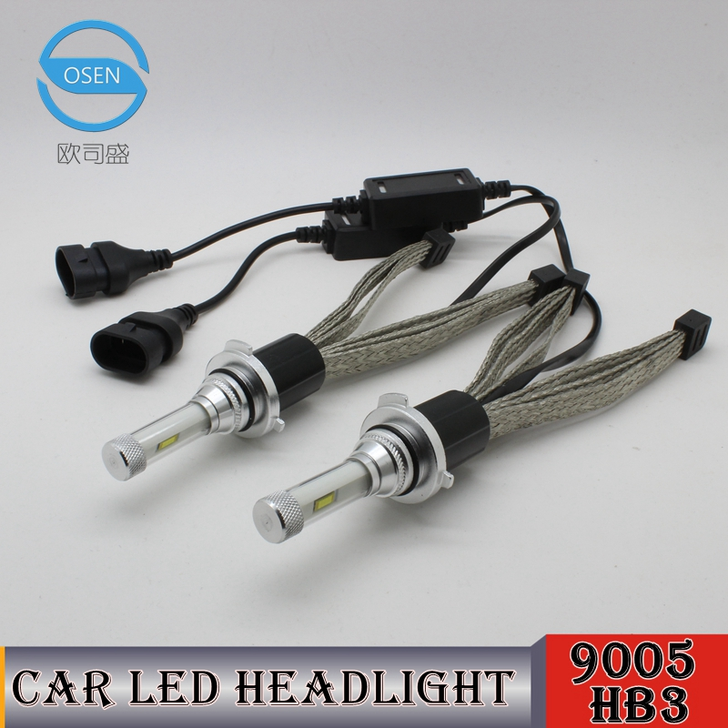 OCSION <font><b>R4</b></font> HB3 <font><b>LED</b></font> Headlight Bulbs 30w 9005 Head Light 3600lm Yellow 3000k 4300k 5000k 6000k 8000k White <font><b>HB4</b></font> 9006 H10 9012 H7 H11