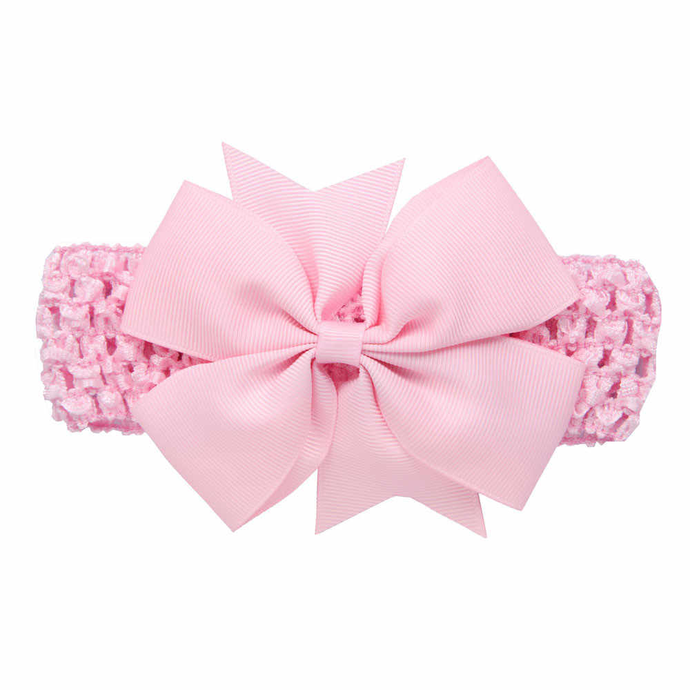 ทารกแรกเกิดทารก Bowknot Headband ยืดหยุ่นเด็กผู้หญิง Hairband สาวทารกแรกเกิด Headbands เด็กสาวอุปกรณ์เสริมผม Haarband สำหรับเด็ก