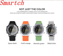 Smartch EX18 Sport font b Smart b font Watch 5 ATM OR IP67 Standard Waterproof Bluetooth