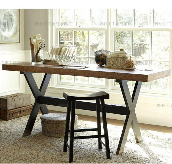 Office Kitchen Tables: American Country Wrought Iron Tables And Chairs Restaurant